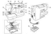 兄弟XL-5700 缝纫机使用说明书