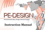 兄弟PE-DESIGN Ver.6 缝纫机英文使用说明书