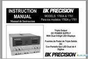 B&K 1760A说明书