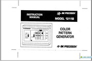 B&K 1211B Color pattern generator说明书