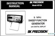 B&K 4012A说明书