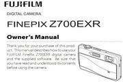 富士 FINEPIX Z707EXR数码相机英文说明书