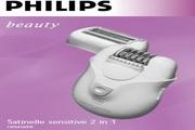 飞利浦HP6416/12 Satin Ice 冰肌美容脱毛器说明书