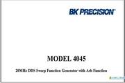 B&K 4045说明书