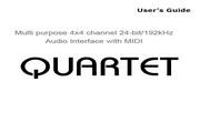 Infrasonic Quartet专业声卡英文版说明书