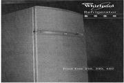 惠而浦 WBM35 SOHO系列双门冰箱 使用说明书
