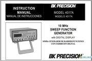 B&K 4017A说明书