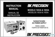 B&K 1653A说明书