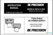 B&K 1651A说明书