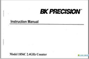 B&K 1856C说明书