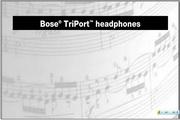Bose Around-Ear 耳罩式耳机说明书