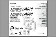 富士数码相机FinePix A800/A610说明书