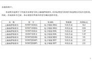 大众PASSAT帕萨特 SVW7183FJi 轿车说明书