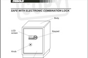 迪堡FDG-A1/D-55L2防盗保险柜说明书
