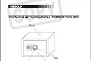迪堡G1-520高级保管箱英文说明书