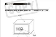 迪堡G1-320高级保管箱英文说明书