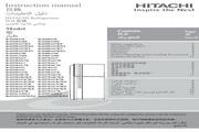 日立 R-Z600AS7KXT型雪柜 使用说明书