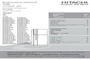 日立 R-Z600AS7KT型雪柜 使用说明书