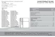 日立 R-Z530AK7K型雪柜 使用说明书