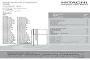 日立 R-Z550A7KT型雪柜 使用说明书