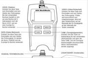 理想VDV多媒体线缆测试仪使用说明书