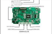 恒铭HM801ELM嵌入式门禁说明书