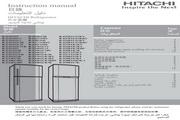 日立 R-Z250A7H型雪柜 使用说明书