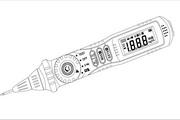 华谊MS8211 笔形数字多用表说明书
