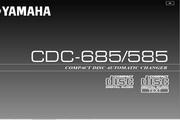 雅马哈CDC-585英文说明书