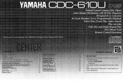 雅马哈CDC-610英文说明书