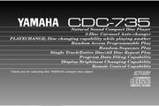 雅马哈CDC-735英文说明书
