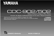 雅马哈CDC-902英文说明书
