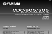 雅马哈CDC-905英文说明书