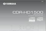 雅马哈CDR-HD1500英文说明书