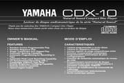雅马哈CDX-10英文说明书