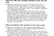 雅马哈CDX-820英文说明书