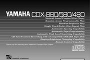<p>雅马哈CDX-880英文说明书</p>