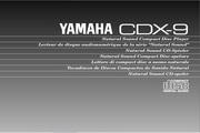 雅马哈CDX-9英文说明书