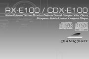 雅马哈CDX-E100英文说明书