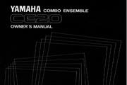 雅马哈CE20英文说明书