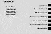 雅马哈CLICKSTATION英文说明书