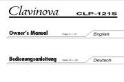 雅马哈CLP-121S英文说明书