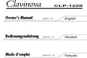 雅马哈CLP-122S英文说明书