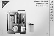 JURA NOVOMATIC 601咖啡机 英文使用手册