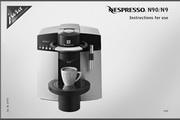 JURA NESPRESSO N9咖啡机 英文使用手册