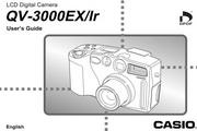 卡西欧 QV-3000Ir数码相机英文说明书
