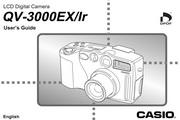 卡西欧 QV-3000ex数码相机英文说明书