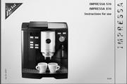 JURA IMPRESSA X70咖啡机 英文使用手册