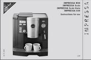 JURA IMPRESSA X30咖啡机 英文使用手册