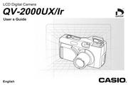 卡西欧 QV-2000ux数码相机英文说明书